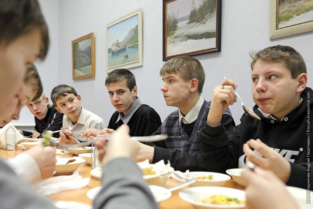 воспитанники Кимрского детского дома