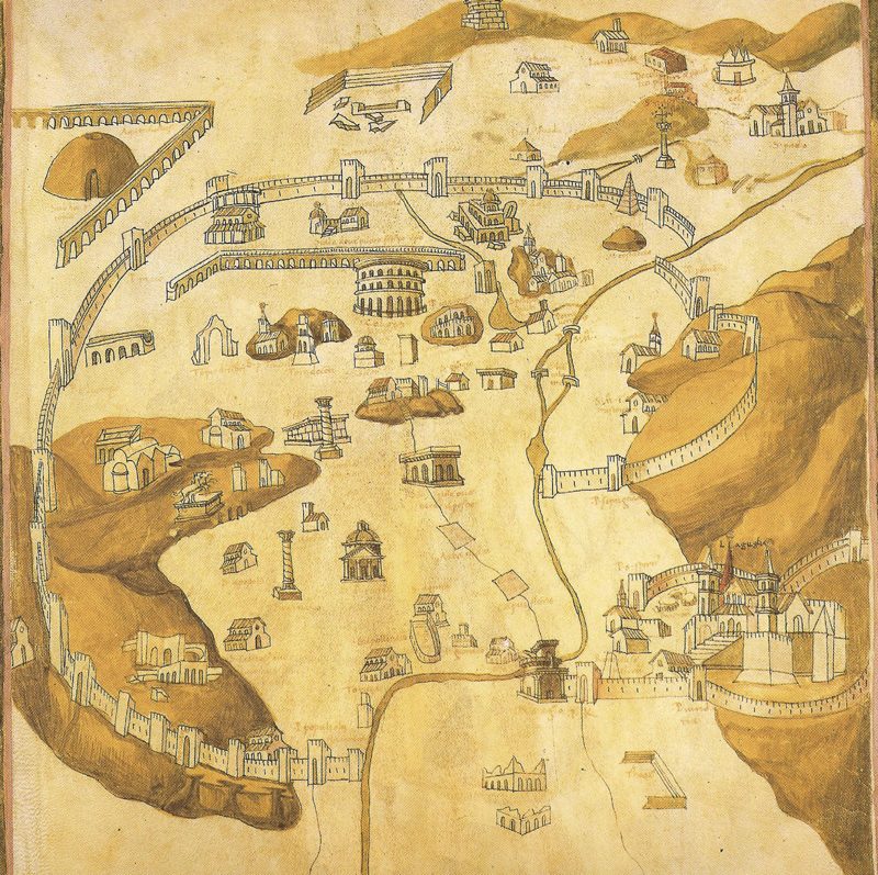 Pietro del Massaio, map of Rome Ptolemy's Geography.1469.jpg