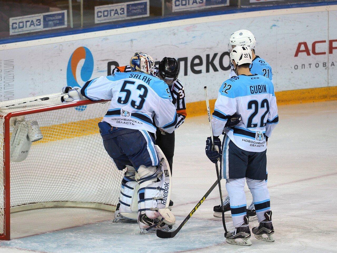 56Восток 1/2 плей-офф Металлург - Сибирь 08.03.2016