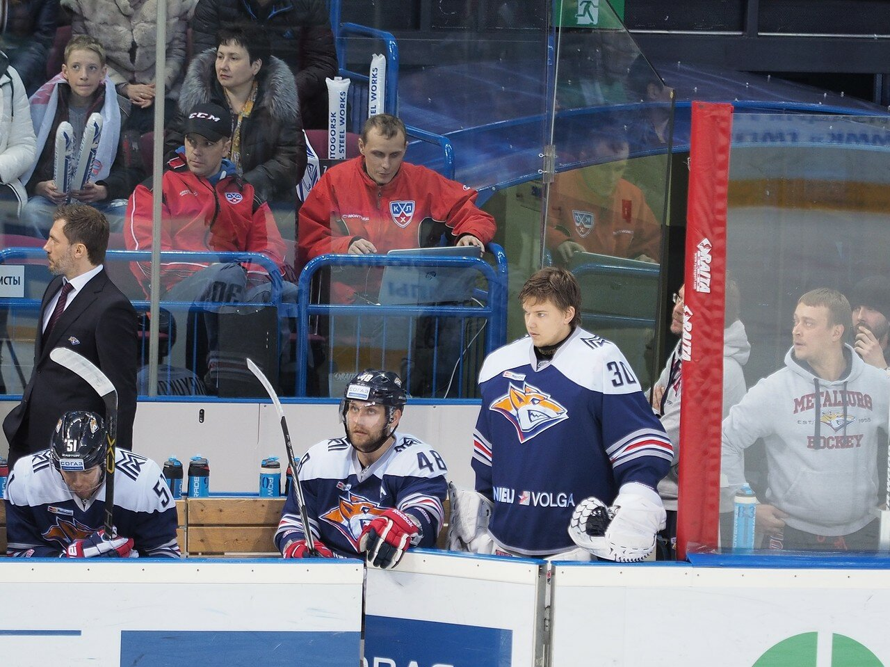 68Восток 1/2 плей-офф Металлург - Сибирь 08.03.2016