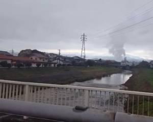 Появилось видео цунами после землетрясения в Японии