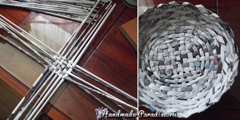 Тирасполь: актуальное окраска газетных трубочек после плетения для
