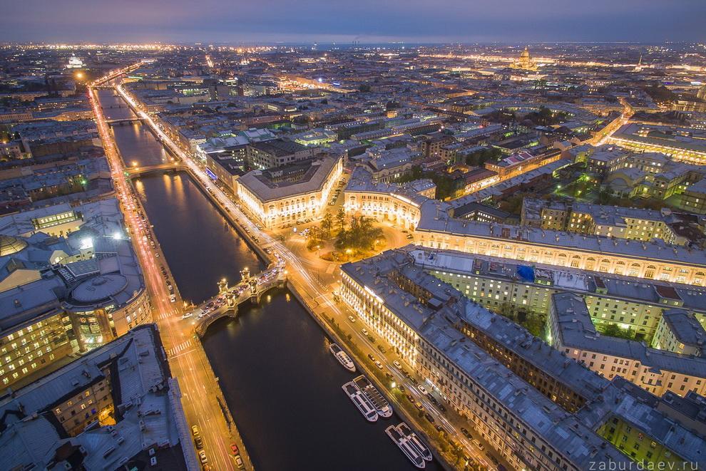 Фотографии санкт петербурга с высоты