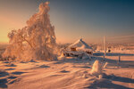 Снежное утро