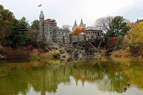 Центральный парк в Нью-Йорке, замок