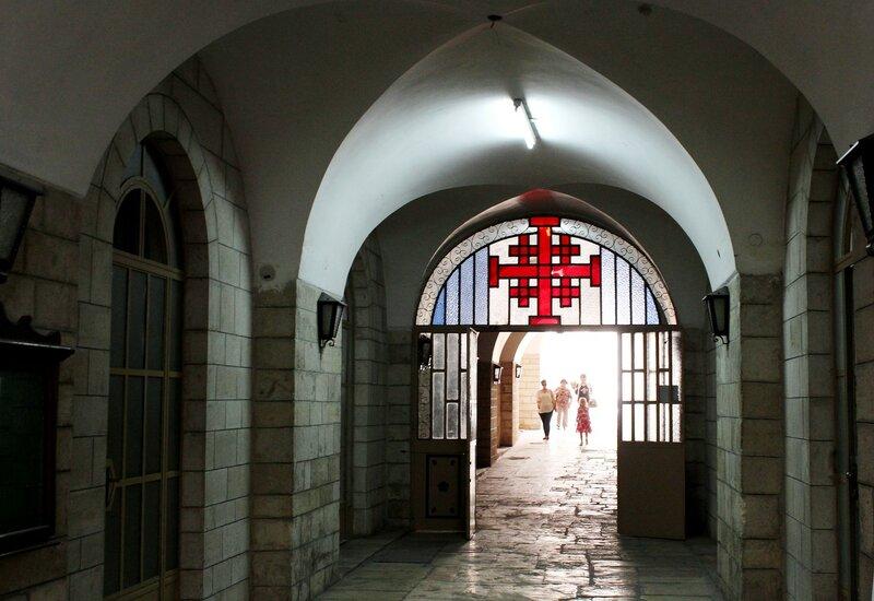 В  христианском  квартале  Старого  города