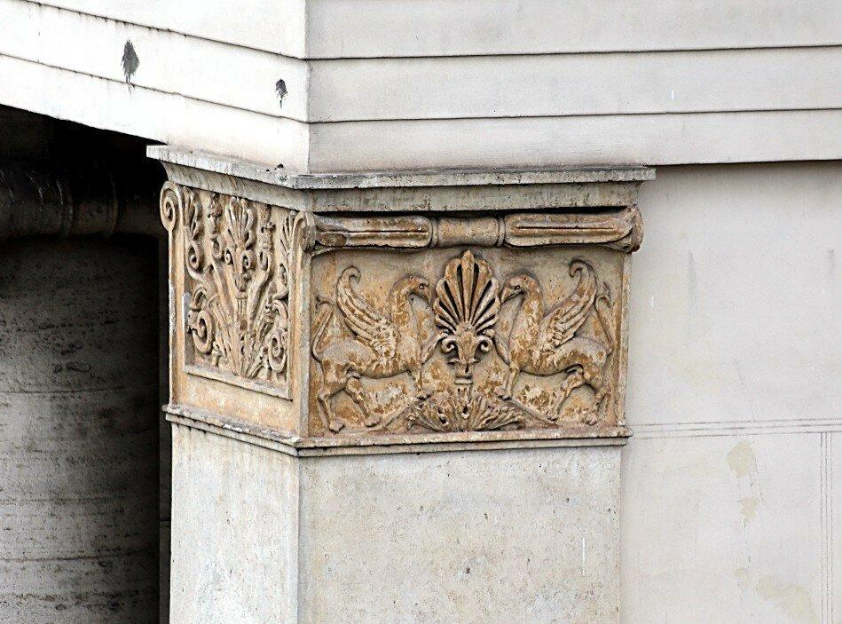 Рим. Ворота на площади Фламино (L'ingresso monumentale su piazzale Flaminio)