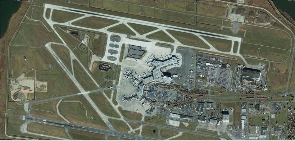 23. Международный аэропорт Ванкувера.