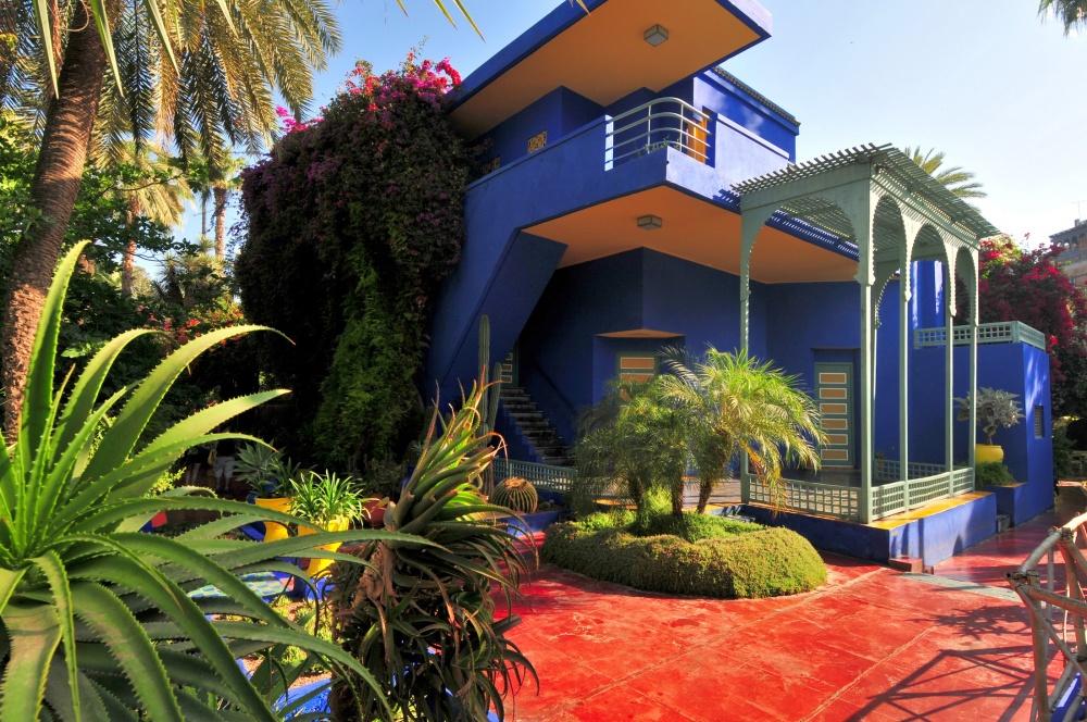 Сад был создан французским художником Жаком Мажорелем, который вначалеXX века приехал вМарокко в