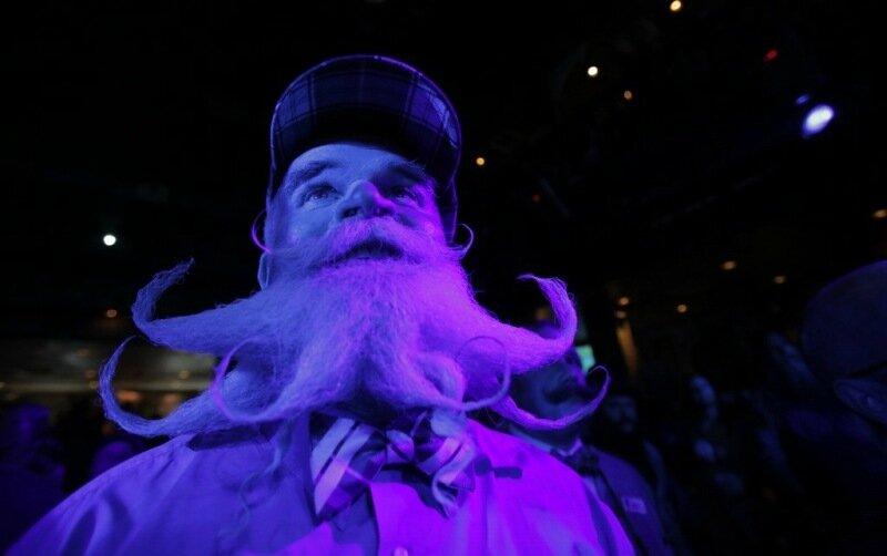 Избран лучший бородач США Фотографии