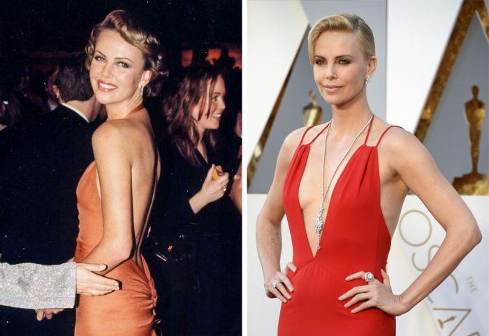 Известные актеры на своей первой церемонии Оскар и сейчас