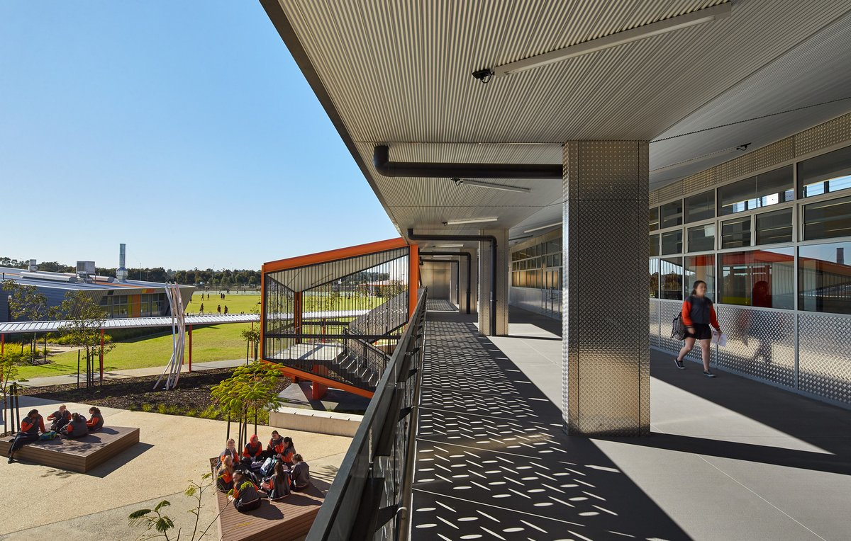 JCY Architects and Urban Designers, оформление средней школы, оформление школы, самые красивые школы, фото самой красивой школы, школа в Австралии