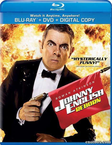 Агент Джонни Инглиш: Перезагрузка / Johnny English Reborn (2011/BDRip/HDRip)