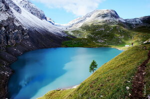 колдовское озеро - голубой магнит