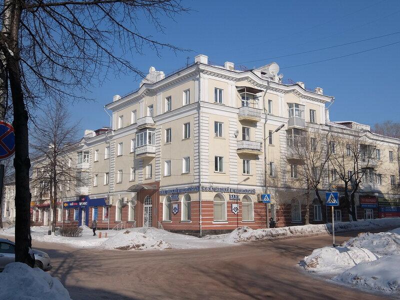 В центре Киселевска