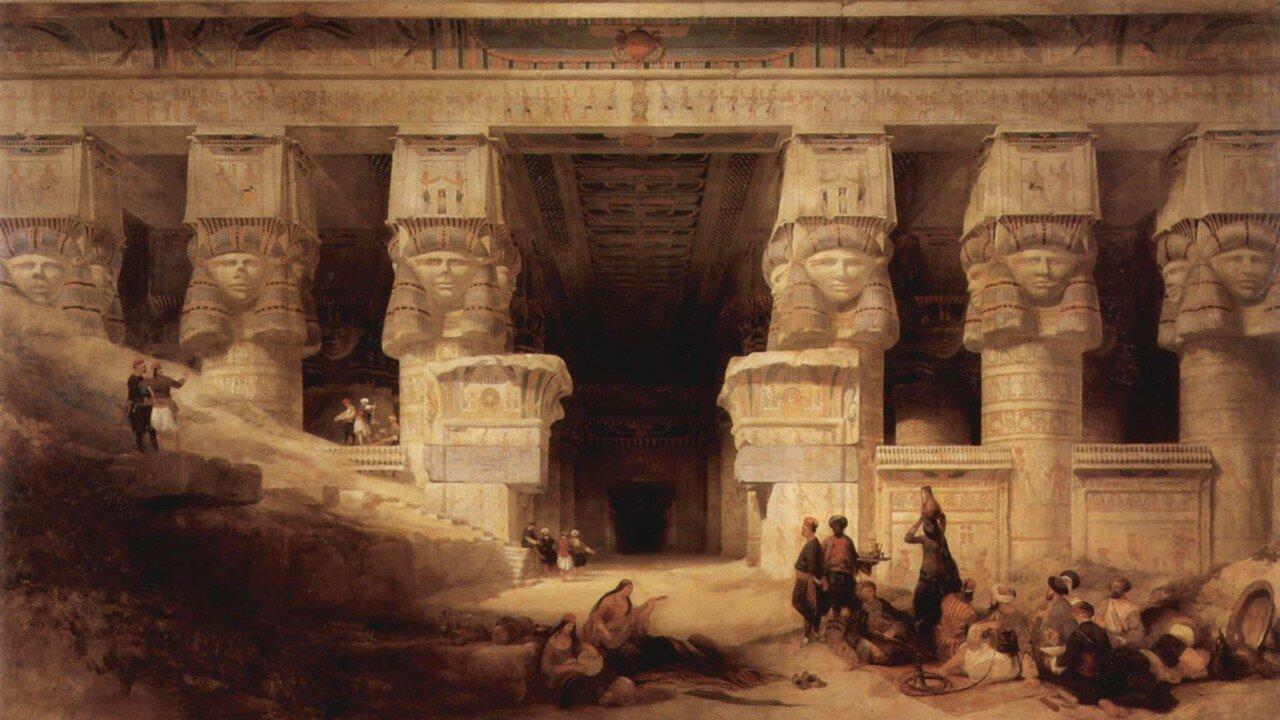 1841. У входа в храм
