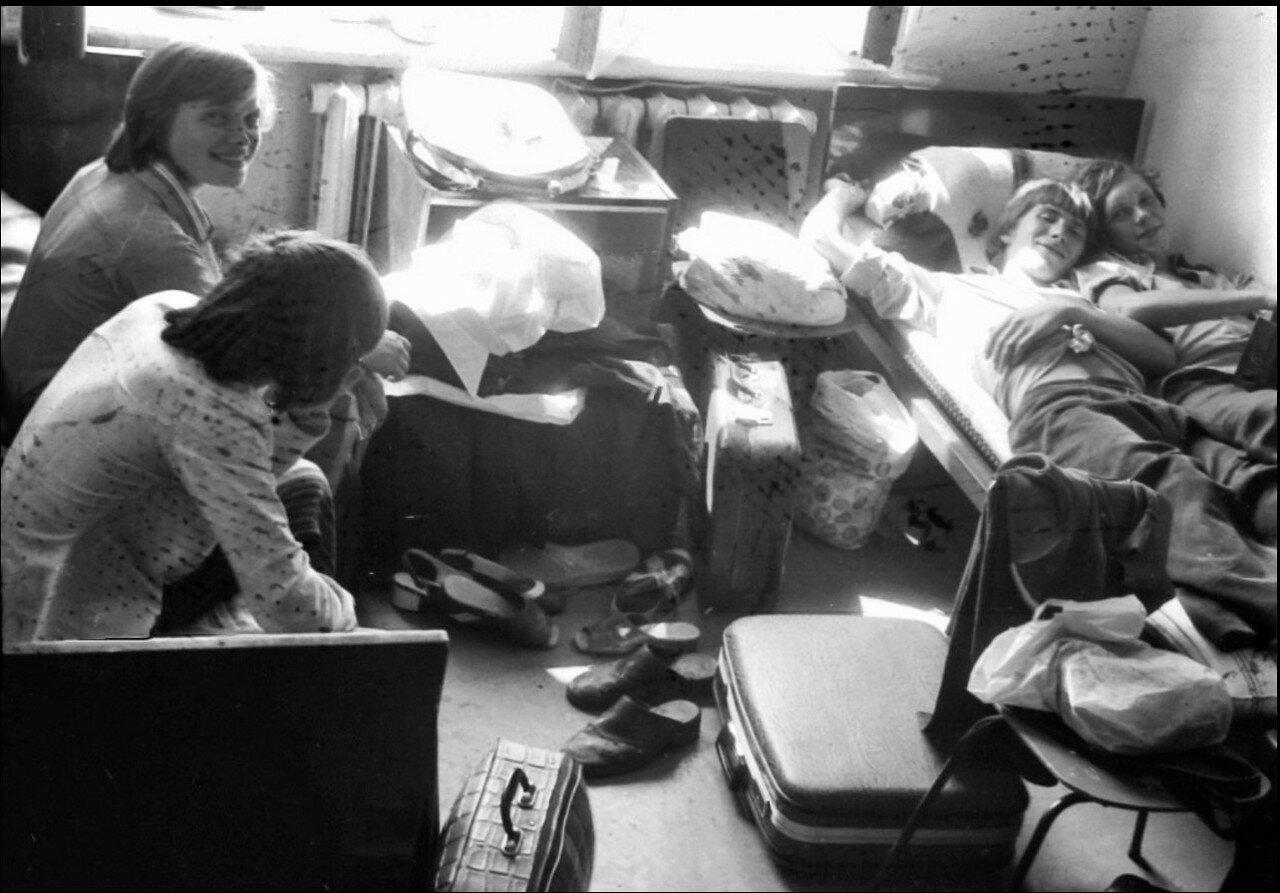 18. Так мы жили - в общежитии