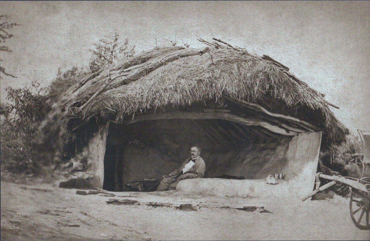21. Князь В. Черкасский в своей штаб-квартире в Горной Студене, октябрь 1877