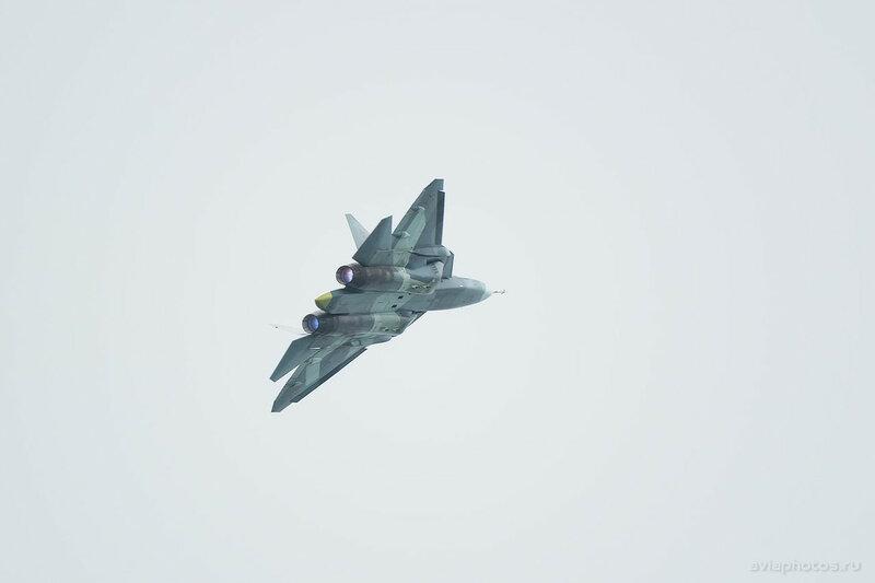 Сухой Т-50 ВКС России 063_D804128