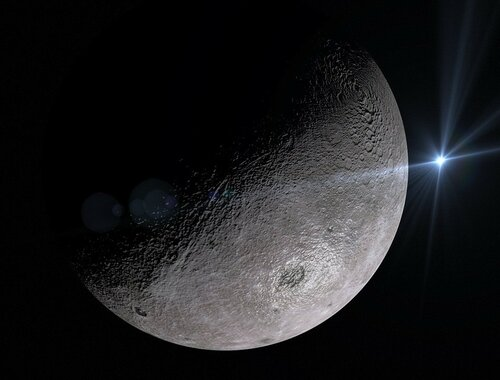 Леонид Кравчук видит место на Луне для Украины