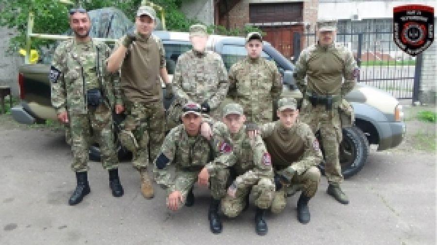 Черкасские бойцы ДУК ПС выдвинулись на фронт...