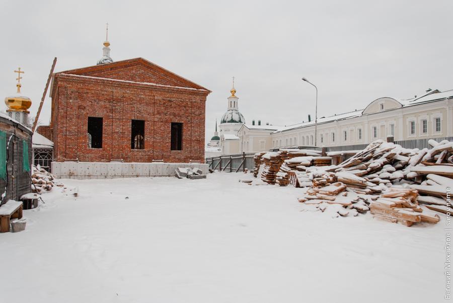 в сарове восстанавливают храм