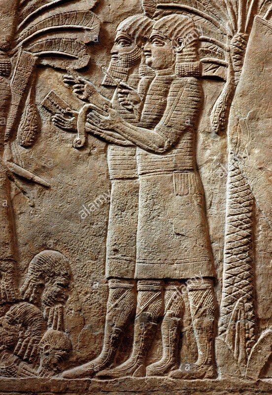 assyrian-scribes-taking-records-relief-from-the-palace-at-nimrud-730-BP26DN.jpg