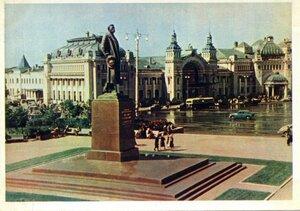 Москва. Памятник А.М. Горькому. Фото Г. Петрусова. Правда, 1957, 350 тыс.jpg