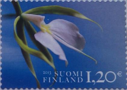 финляндия 2013 цветок 1.20