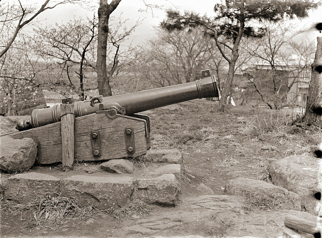 Japanese Cannon 1930s.
