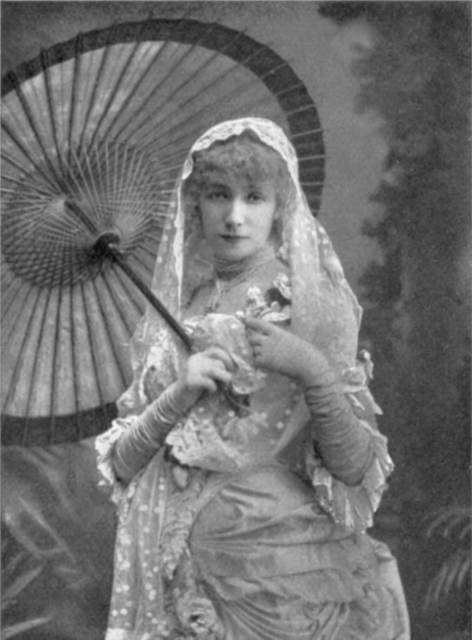 Дама с камелиями, 1881 год. В 1923-м актрисы не стало. Даже сценарий своих похорон она разработала с