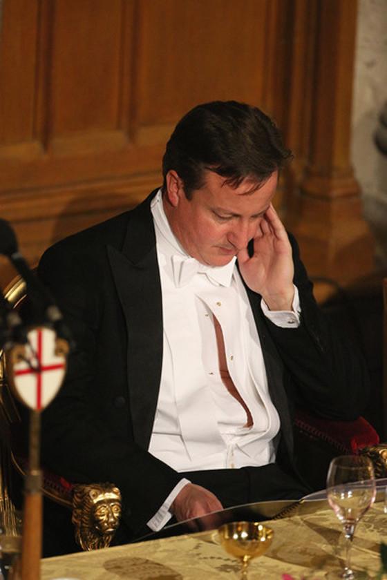 Джеймс Кэмерон и его пузико Во время торжественного приема у мэра Лондона произошёл ст