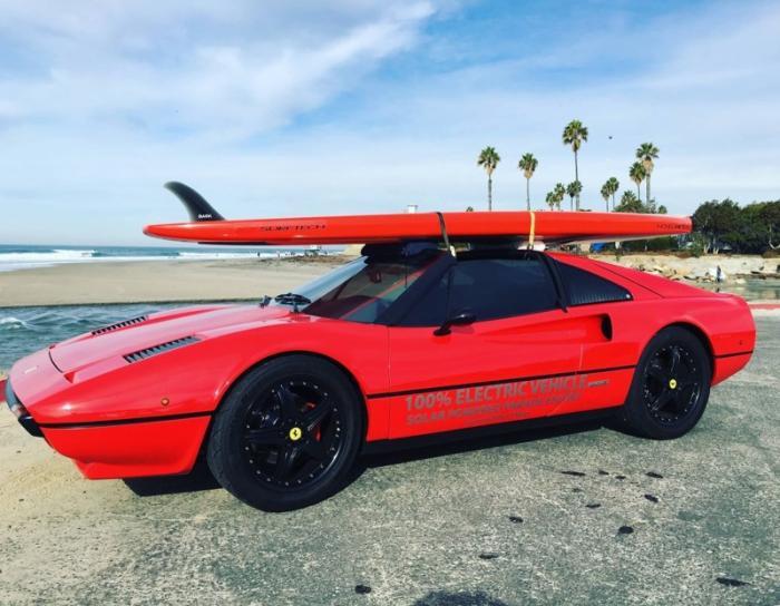 Первый в мире электрический спорткар Ferrari