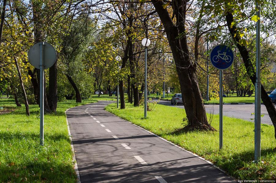 14. Еще в Капотне есть велодорожка!!! Идет она в Марьино, этим летом ее даже включали в топ-10 лучши