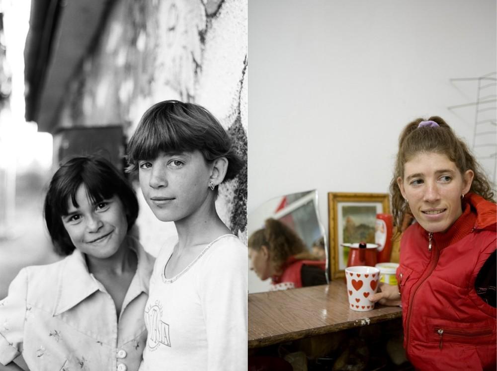 Первое фото было сделано в 1997 году. Даниэла и Даниэль – двойняшки. Даниэла снимает квартиру в Ясса