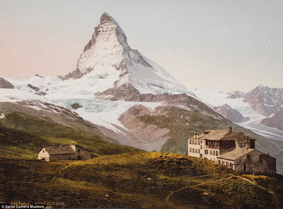 Отель «Риффельхаус», Риффельберг, Швейцария, 1895.