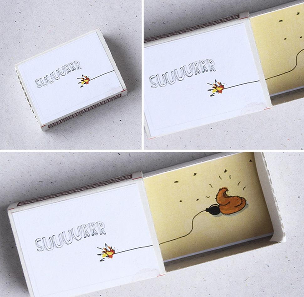 Открой и узнаешь: спичечные коробки с сюрпризом