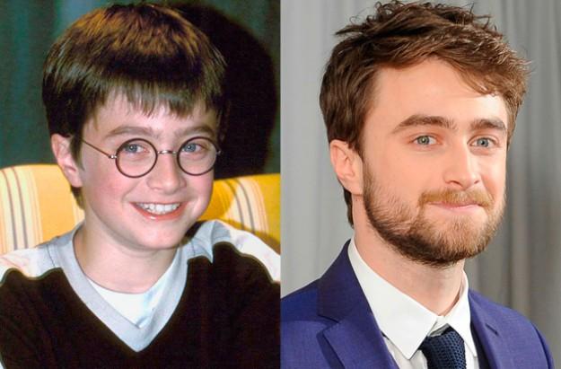 Дэниэл Рэдклифф (Гарри Поттер) Дэниэлу было всего 11 лет, когда его взяли на роль, которая навсегда