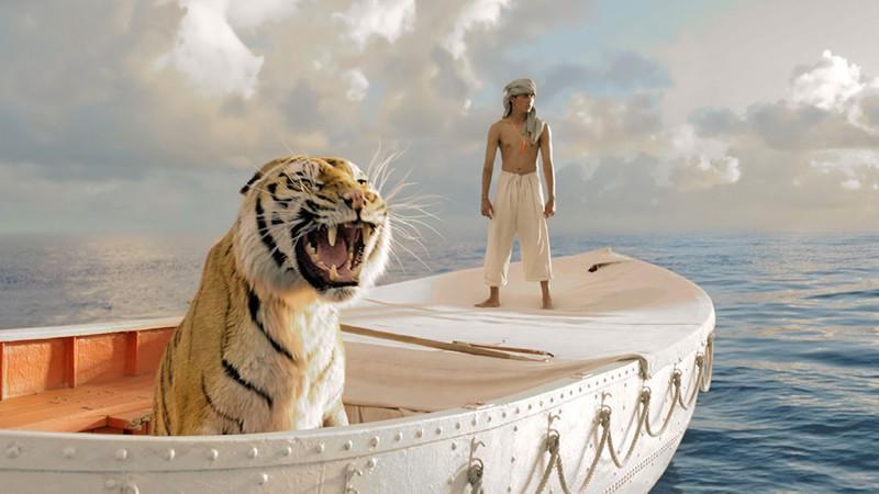 10. Бенгальский тигр Кинг из фильма «Жизнь Пи» Наверняка уже многим известно, что во время съемок фи