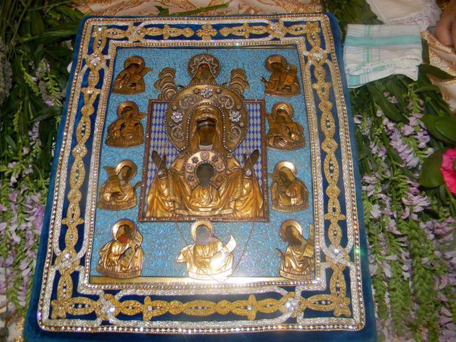 ВМордовию прибудет главная святыня РПЦ зарубежом— икона Божией Матери «Знамение»
