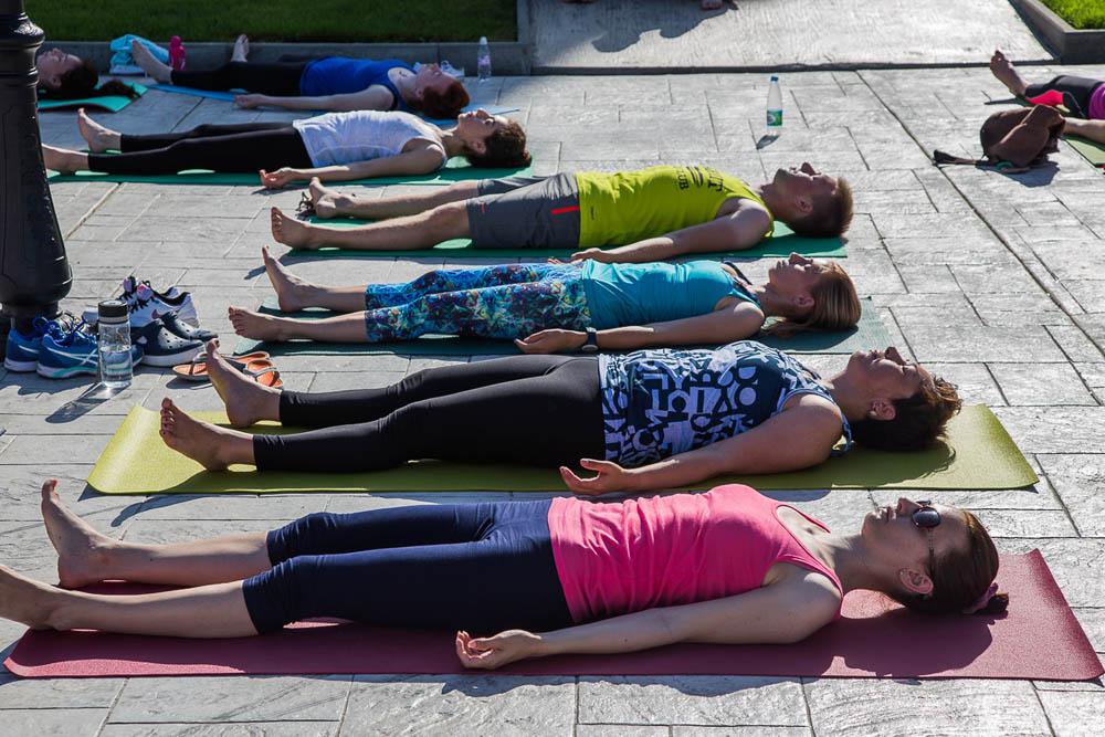 День йоги в Анапе 2016