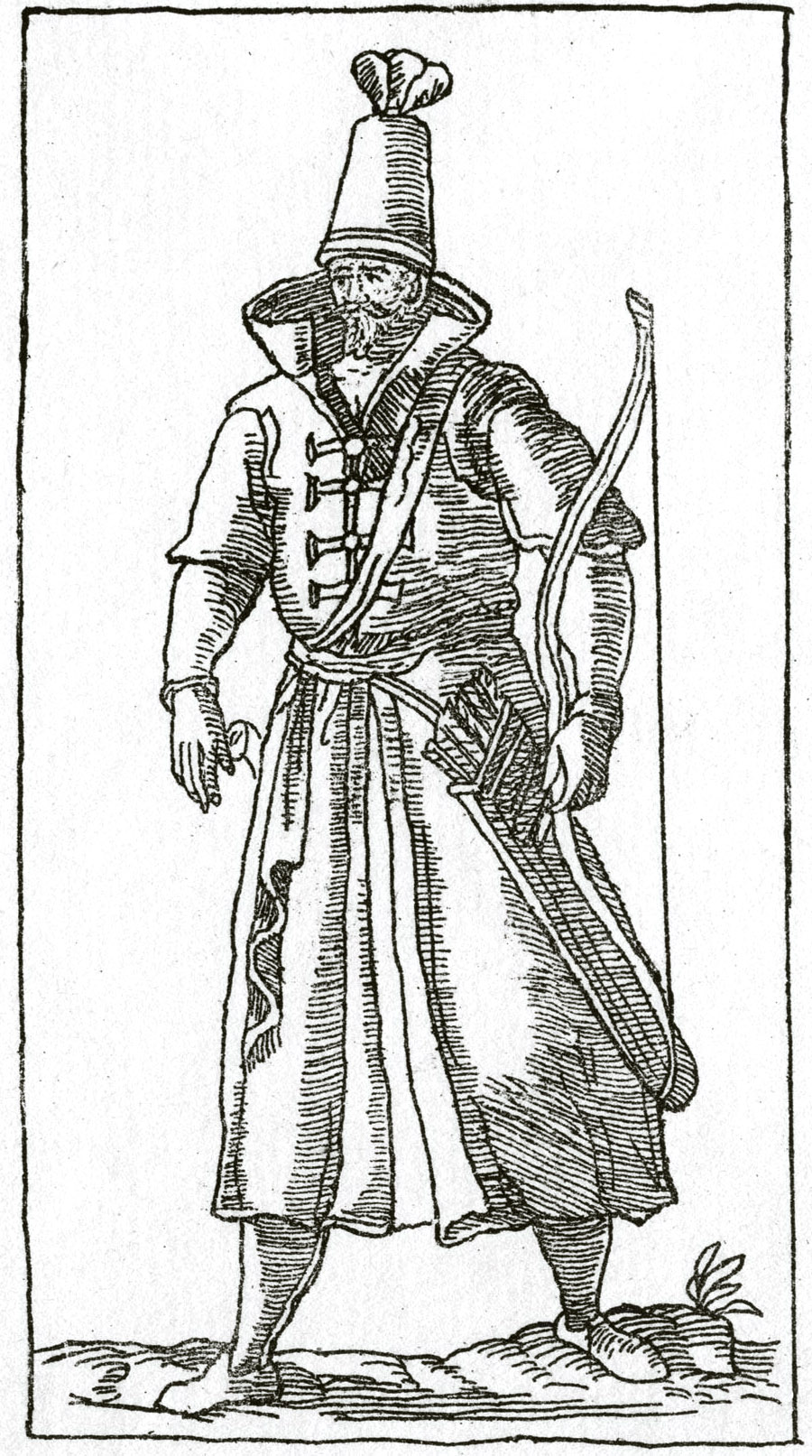 141. Гравюра из книги Чезаре Вечеллио, 1598