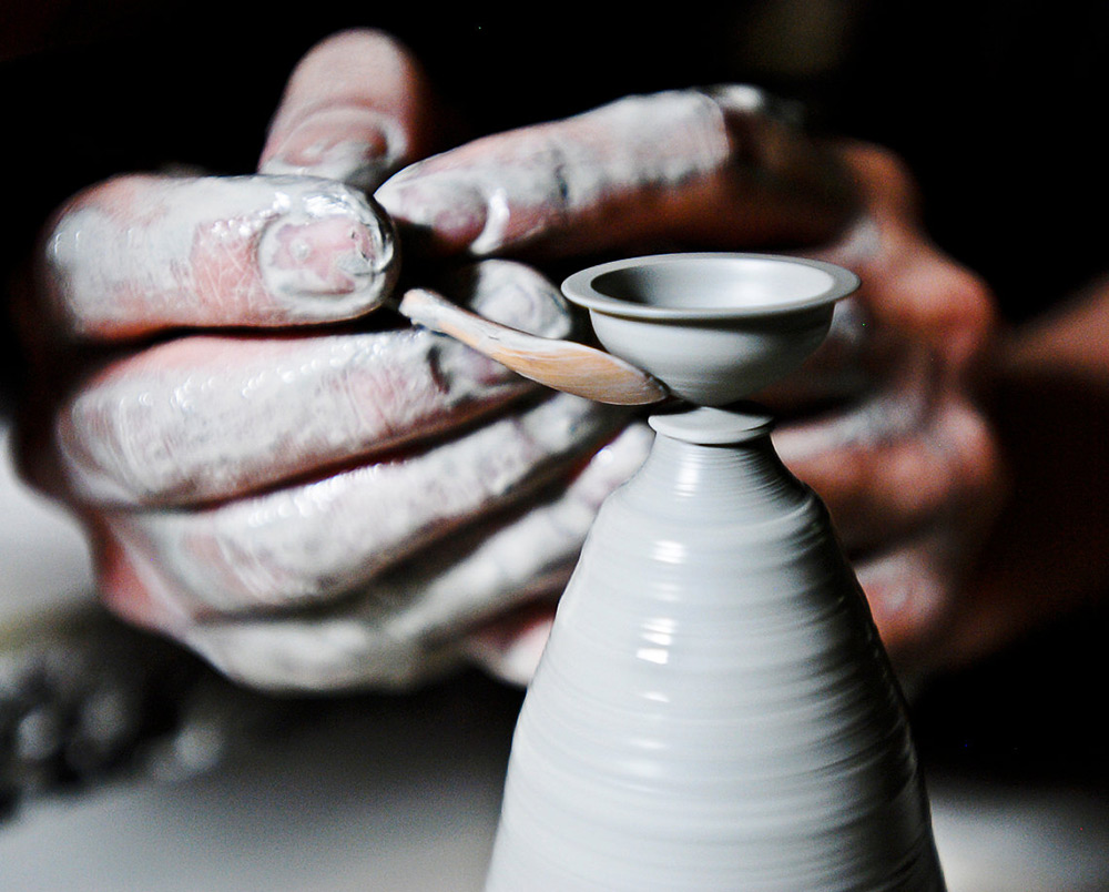 Miniature Hand Thrown Pottery by Jon Almeda