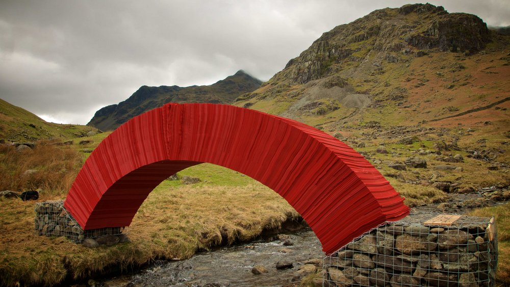 all photos by Steve Messam courtesy the artist While it's certainly not the longest, this weight-bea