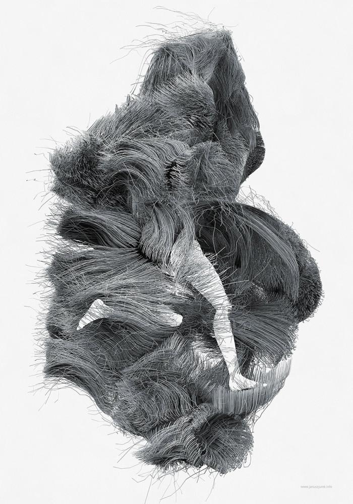 Digital Illustrations by Janusz Jurek Dynamic digital artworks created by Polish artist Janusz Jurek