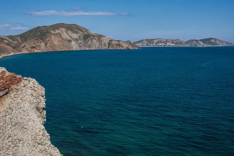 Панорама Тихой бухты с мыса Хамелеон