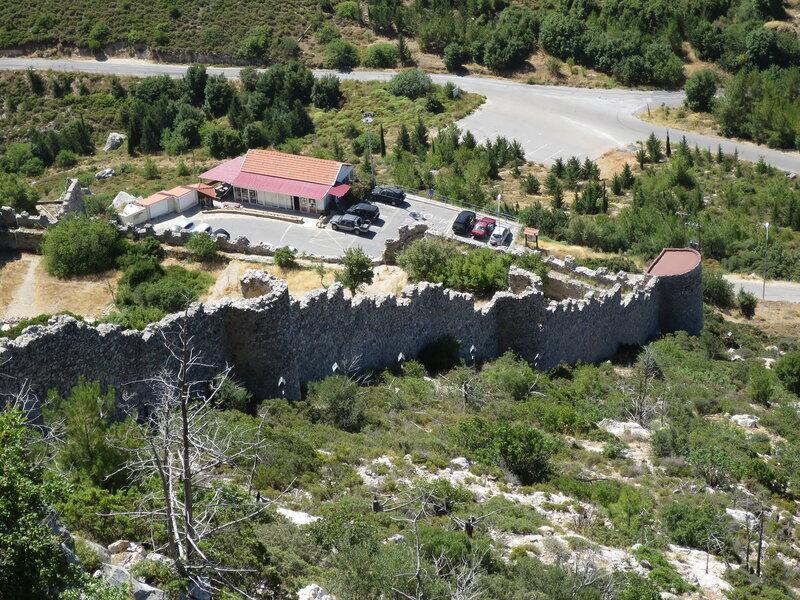 Св. Илларион. Западная стена с внешней стороны