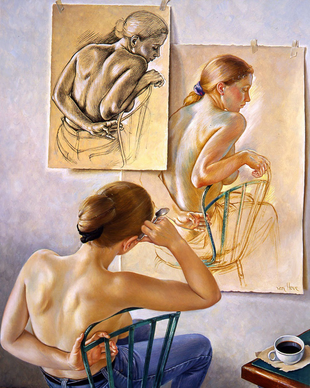 Почему Художники Рисуют Обнаженную Фигуру