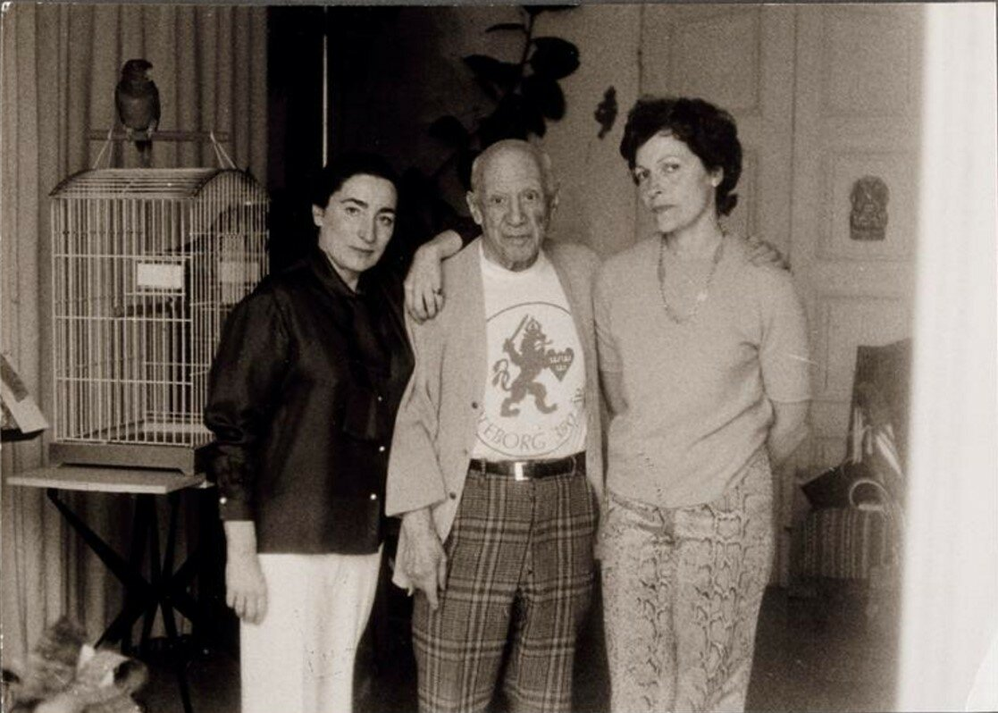 1960-е. Жаклин, Пикассо и Жильберта Брассай