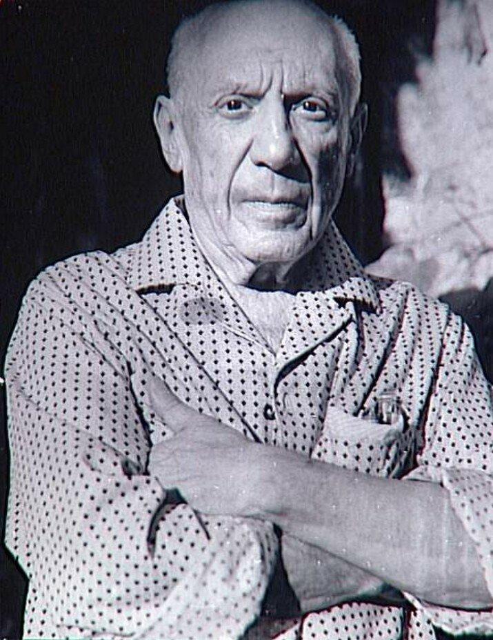 1966. Портрет Пикассо
